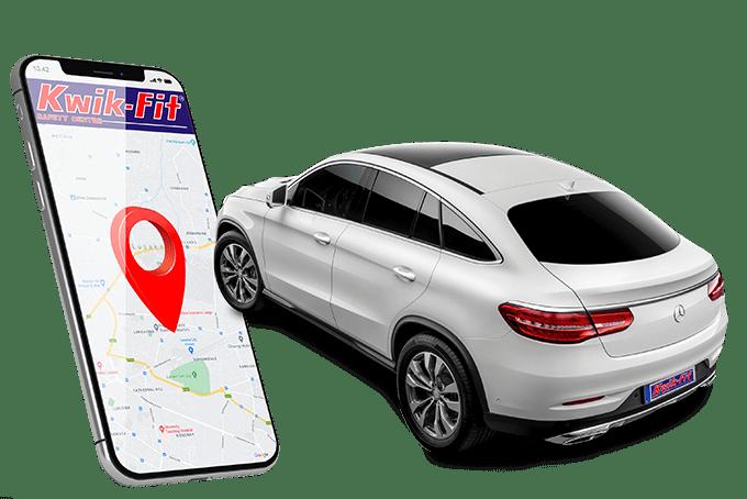 Vehicle tracking by kwikfit