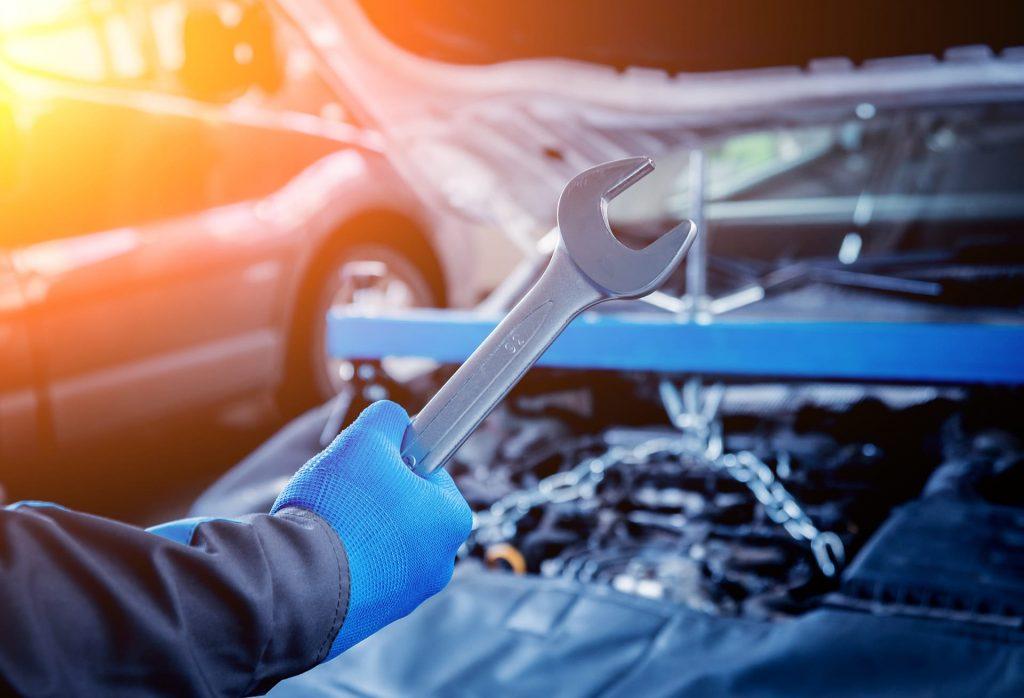 Car servicing by Kwik-Fit