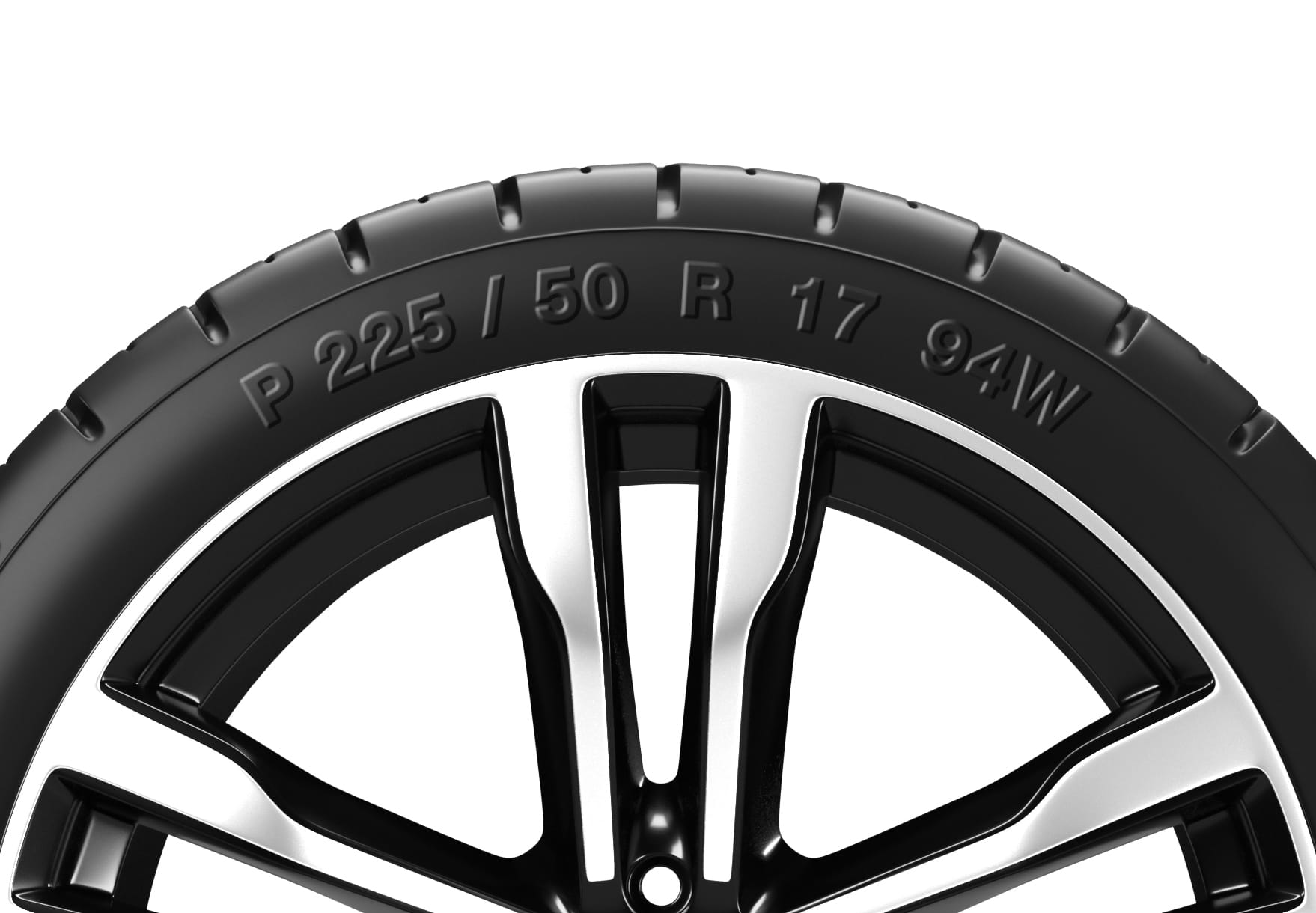 Tyre specification and sizes